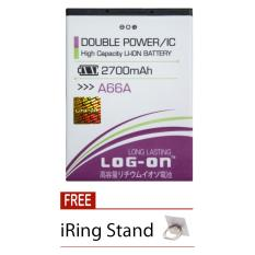 Diskon Log On Baterai Evercoss A66A Double Power Battery 2700 Mah Free Iring Stand Akhir Tahun