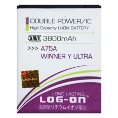 Log On Baterai Evercoss A75/ A75A / A75G / Winner Y Ultra - Double Power - 3800 mAh