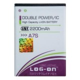 Jual Log On Baterai Evercoss A7S Double Power Battery 2200 Mah Murah
