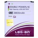 Harga Log On Baterai Evercoss Andromax Qi Double Power Battery 3800 Mah Log On Online