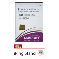 Harga Log On Baterai Evercoss R50A Double Power Battery 5000 Mah Free Iring Stand Online