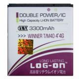 Harga Log On Baterai Evercoss Winner T M40 4G 4 Double Power Battery 3300 Mah Baru Murah