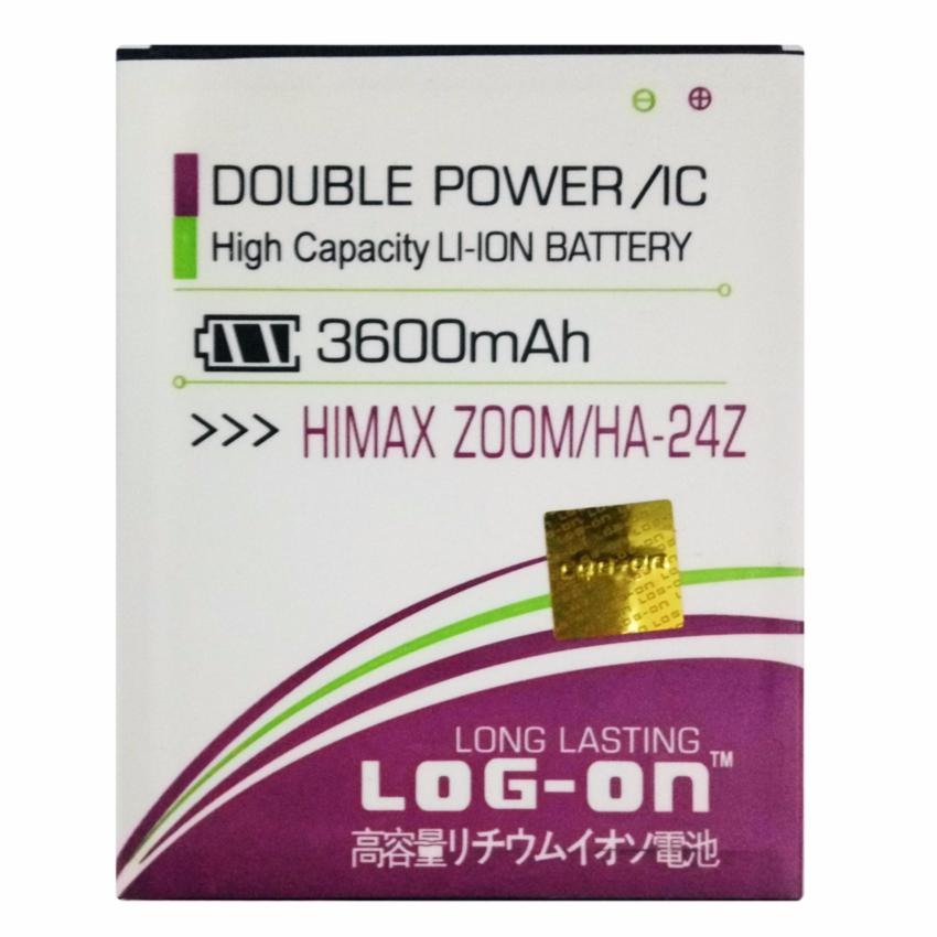 Jual Log On Baterai Himax Zoom Ha 24Z Double Power Battery 3600 Mah Import