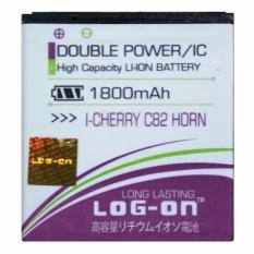 Log On Baterai I-Cherry C82 Horn - Double Power Battery - 1800 mAh