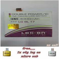 Log on Baterai LG OPTIMUS G2/BL T7 Free Otg Log on Micro Usb