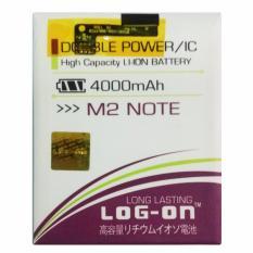 Spesifikasi Log On Baterai Meizu M2 Note Double Power Battery 4000 Mah Lengkap
