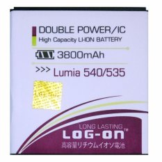 Log On Baterai Microsoft Lumia 540 / 535 - Double Power Battery - 3800 mAh