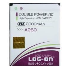 Log On Baterai MITO A260 - Double Power Battery - 3000 mAh