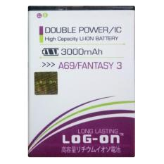 Log On Baterai Mito A69 Fantasy 3 - Double Power Battery - 3000 mAh