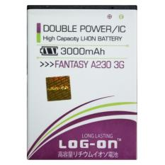 Log On Baterai MITO Fantasy A230 3G - Double Power Battery - 3000 mAh