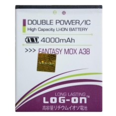 Log On Baterai Mito Fantasy MOX A38 - Double Power Battery - 4000 mAh