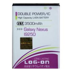 Log On Baterai Samsung Galaxy Nexus / i9250 - Double Power - 3500 mAh