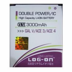 Toko Log On Baterai Samsung Galaxy V Ace 3 Ace 4 Double Power Battery 3000 Mah Online Terpercaya