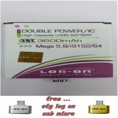 Toko Jual Log On Baterai Samsung S4 Mega 5 8 Free Otg Log On Micro Usb