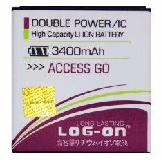 Jual Log On Baterai Zte Access Go 4E Double Power Battery 3400 Mah Ori