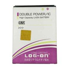 Kualitas Log On Battery Baterai Double Power Andromax Qi 3800Mah Log On
