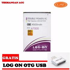 Log On Battery Baterai Double Power Lenovo A7000