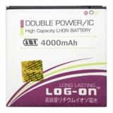 Jual Log On Battery Baterai Double Power Sony Z1 4000Mah Import