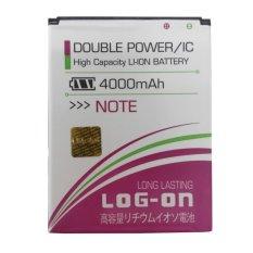Log On Battery Baterai Double Power Xiaomi Redmi Note - 4000mah