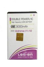Spesifikasi Log On Battery Double Power For Andromax V1 V2 Murah
