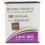 Harga Log On Battery Double Power For Samsung Galaxy Grand 2 Galaxy S4