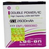 Log On Battery Em1 For Blackberry 9360 9350 9370 Log On Diskon