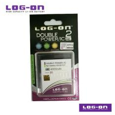 LOG-ON Battery For Advan Vandroid B5 4G LTE - DoublePower & IC - Garansi 3 Bulan