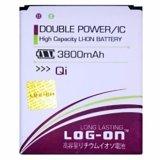 Jual Log On Battery For Andromax Qi E2 3800Mah Double Power Ic Garansi 6 Bulan Log Battery Murah