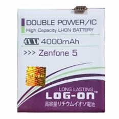 LOG-ON Battery For ASUS Zenfone 5 4000mAh - Double Power & IC Battery - Garansi 6 Bulan