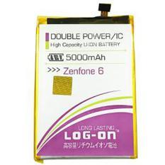 LOG-ON Battery For ASUS Zenfone 6 5000mAh - Double Power & IC Battery - Garansi 6 Bulan