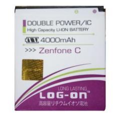 LOG-ON Battery For ASUS Zenfone C 4000mAh - Double Power & IC Battery - Garansi 6 Bulan