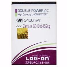 LOG-ON Battery For ASUS Zenfone Go B 3400mAh - Double Power & IC Battery - Garansi 3 Bulan