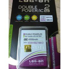 LOG-ON Battery For BOLT MAX 2 4000mAh Double Power & IC - Garansi 6 Bulan