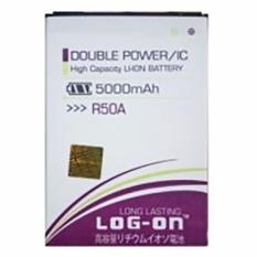 Jual Log On Battery For Evercoss R50A 5000Mah Double Power Ic Garansi 6 Bulan Di Bawah Harga