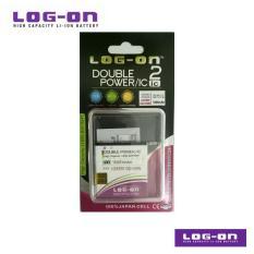 LOG-ON Battery For i-Cherry C82 Horn - DoublePower & IC - Garansi 3 Bulan