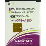 Log On Battery For Lenovo A319 3000Mah Double Power Ic Battery Garansi 6 Bulan Dki Jakarta Diskon 50