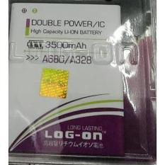 LOG-ON Battery For Lenovo A680 / A328 3500mAh - Double Power & IC - Garansi 3 Bulan