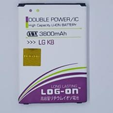 LOG-ON Battery For LG K8 3800mAh - Double Power & IC- Garansi 6 Bulan