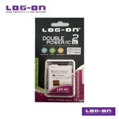 LOG-ON Battery For Polytron C24B / C 24B - 2500mAh Double Power & IC - Garansi 3 Bulan
