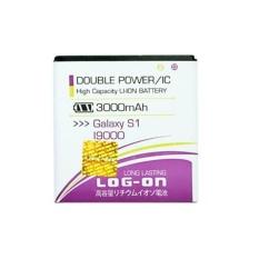 LOG-ON Battery For Samsung Galaxy S1 3000mAh - Double Power & IC Battery - Garansi 6 Bulan