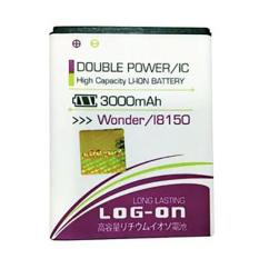 LOG-ON Battery For Samsung Galaxy Wonder 3000mAh - Double Power & IC Battery - Garansi 6 Bulan