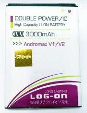 Log On Battery For Smartfren Andromax V1 / V2 / Zte E5 / Zte V9820