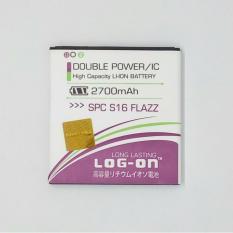 Spesifikasi Log On Battery For Spc S16 Flazz 2700Mah Double Power Ic Garansi 6 Bulan Paling Bagus