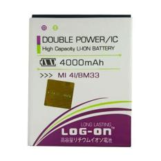 Jual Log On Battery For Xiaomi Mi4I 4000Mah Double Power Ic Battery Garansi 6 Bulan Log Battery Di Dki Jakarta