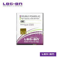 LOG-ON Battery Untuk ACER Liquid Z410 / Z320 / Z330 - DoublePower & IC - Garansi 6 Bulan