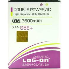 LOG-ON Battery untuk Advan S5E+ 3600mAh - Double Power & IC Battery - Garansi 6 Bulan
