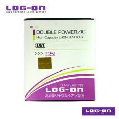 LOG-ON Battery Untuk Advan S5i - Double Power & IC - Garansi 6 Bulan
