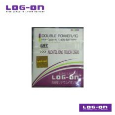 LOG-ON Battery Untuk Alcatel One Touch D920 / Pop C7 - DoublePower & IC - Garansi 6 Bulan