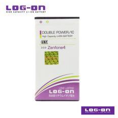 LOG-ON Battery Untuk Asus Zenfone 4 / Zenfone Go Mini  - Double Power & IC - Garansi 6 bulan