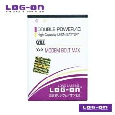 LOG-ON Battery Untuk Bolt Max Modem Huawei - Double Power & IC - Garansi 6 Bulan